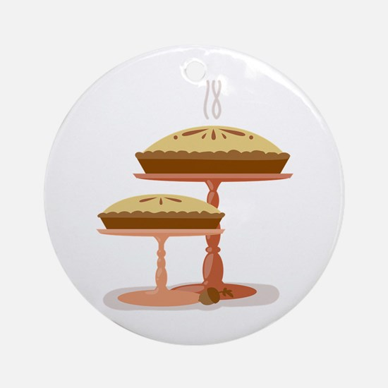 Two Pies Ornament (Round)
