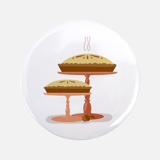 """Two Pies 3.5"""" Button (100 pack)"""