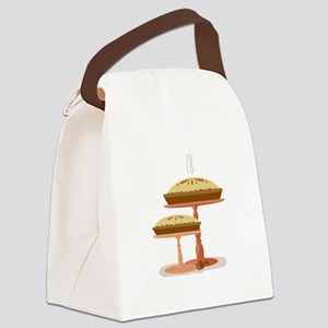Two Pies Canvas Lunch Bag