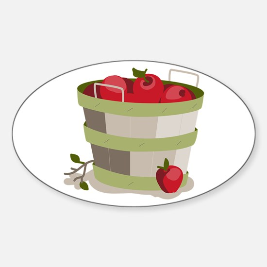 Apple Basket Decal