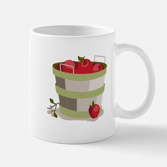 Apple Basket Mugs