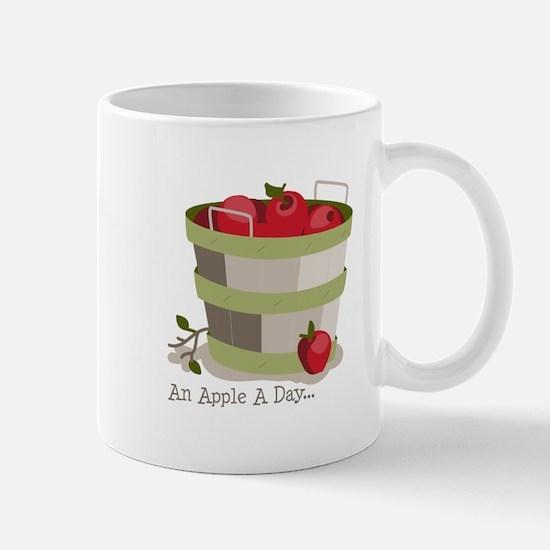 An Apple A Day... Mugs