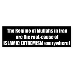 Root Cause of Extremism Bumper Bumper Sticker