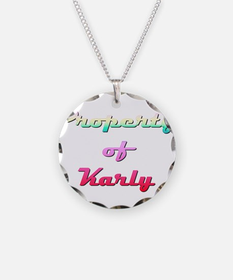Property Of Karly Female Necklace