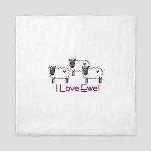I love ewe! Queen Duvet