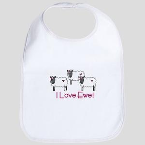 I love ewe! Bib