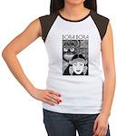 Vintage BORA BORA Women's Cap Sleeve T-Shirt