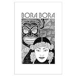 Vintage BORA BORA Large Poster