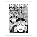 Vintage BORA BORA Small Poster