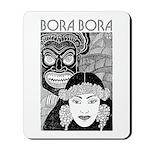 Vintage BORA BORA Mousepad