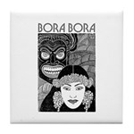Vintage BORA BORA Tile Coaster