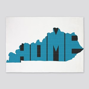 Kentucky Home 5'x7'Area Rug