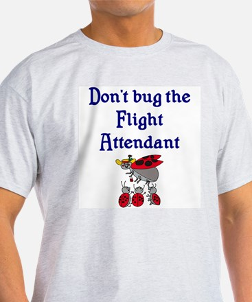 Flight Attendant Ladybugs T-Shirt