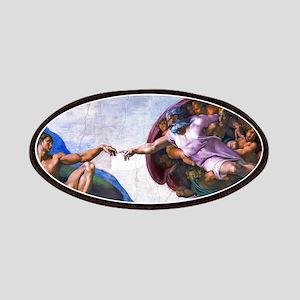 Michelangelo: Creation of Adam Patches