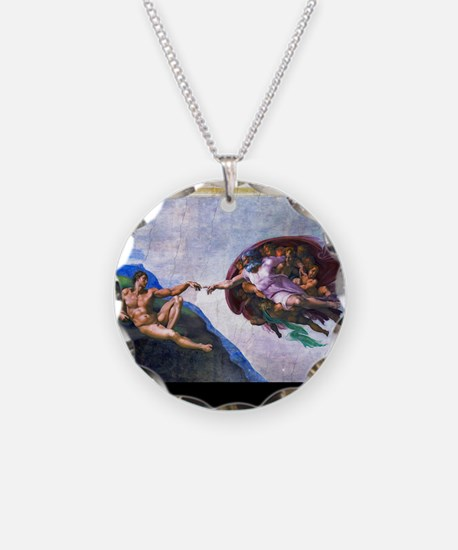 Michelangelo: Creation of Ad Necklace