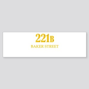 221 B Baker Street Bumper Sticker