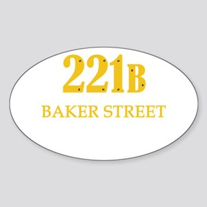 221 B Baker Street Sticker