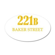 221 B Baker Street Wall Decal