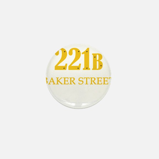 221 B Baker Street Mini Button