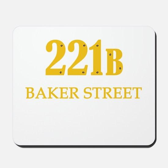 221 B Baker Street Mousepad