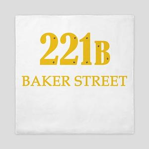 221 B Baker Street Queen Duvet