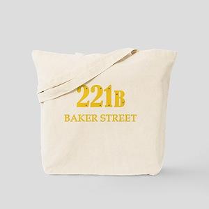 221 B Baker Street Tote Bag