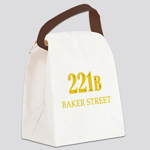 221 B Baker Street Canvas Lunch Bag