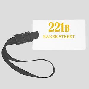 221 B Baker Street Luggage Tag