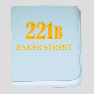 221 B Baker Street baby blanket