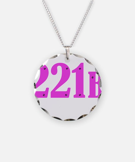 221 B Pink Necklace