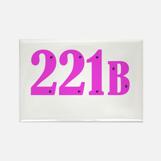 221 B Pink Magnets