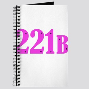 221 B Pink Journal