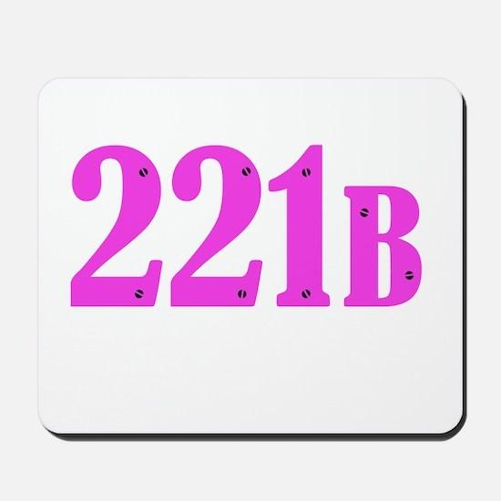 221 B Pink Mousepad