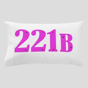 221 B Pink Pillow Case