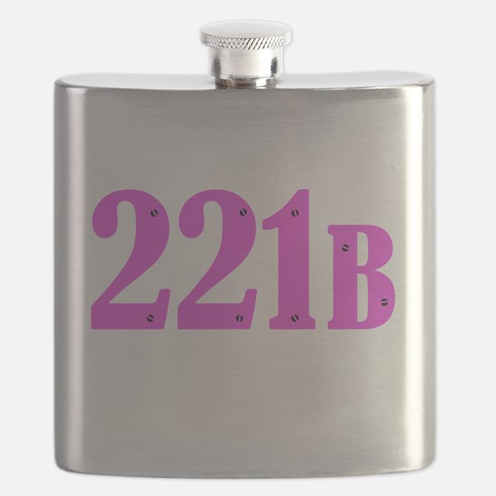 221 B Pink Flask
