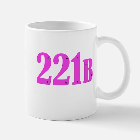 221 B Pink Mugs