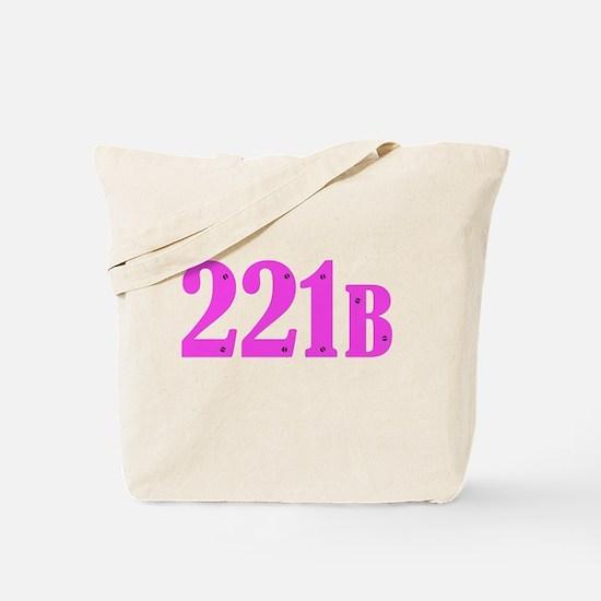 221 B Pink Tote Bag