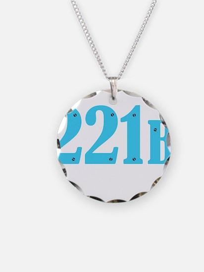 221 B Blue Necklace