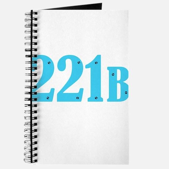 221 B Blue Journal