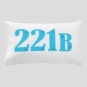 221 B Blue Pillow Case