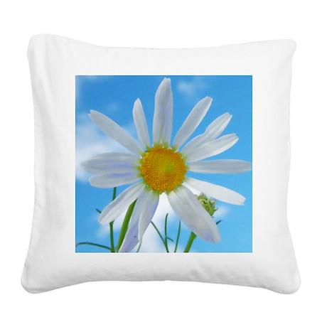 helle blüte Square Canvas Pillow