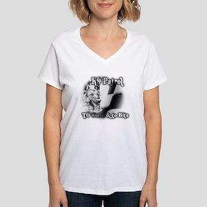 Serve & to Bite Women's V-Neck T-Shirt