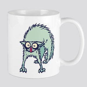 Freaked out Cat Mugs