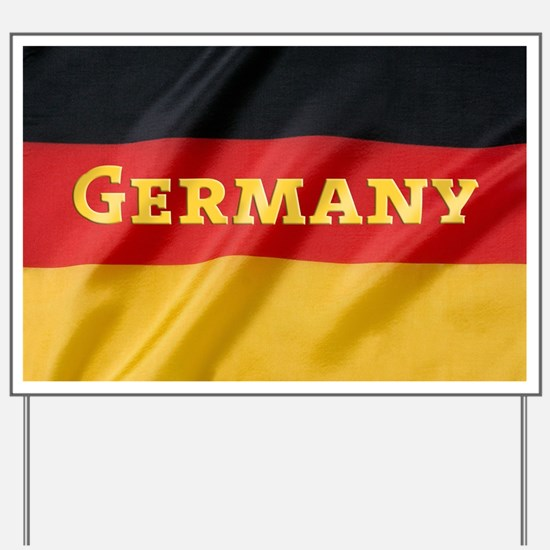 Flag of Germany, labeled Yard Sign