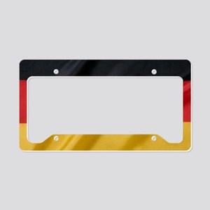 Flag of Germany, labeled License Plate Holder