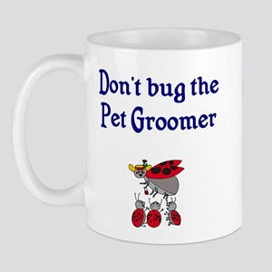 Pet Groomer Ladybugs Mug