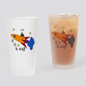 Up, Up, and Away Drinking Glass
