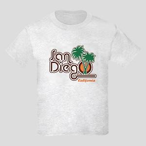 San Diego CA Kids Light T-Shirt