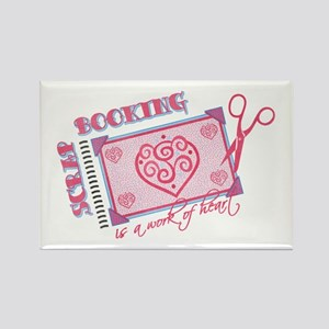 Work of Heart Rectangle Magnet