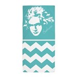 Beethoven Music Chevron Zigzag Beach Towel